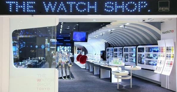 THE WATCH SHOP.ダイバーシティ東京プラザ